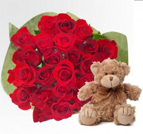 Roses Teddy